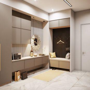 Дизайн прихожей - Квартира в ЖК Актер Гэлекси
