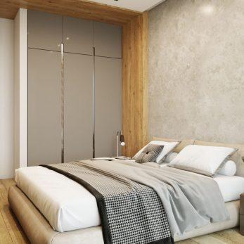 Дизайн спальни - Квартира в ЖК Актер Гэлекси