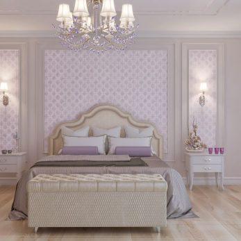 Дизайн спальни - Вилла на ул. Ландышевая