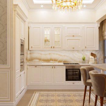 Дизайн кухни - ЖК Парковая 180 кв. м