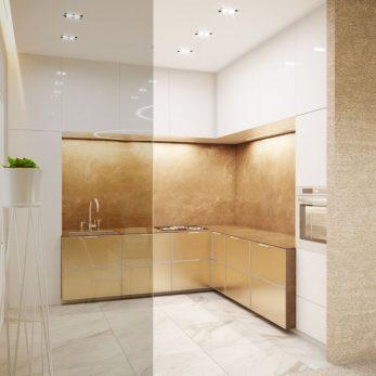 Дизайн кухни - Квартира в ЖК Актер Гэлекси