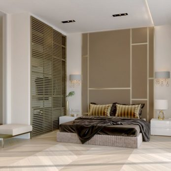 Дизайн спальни - Апартаменты ЖК Актер Гэлекси 110 кв.м