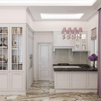 Дизайн кухни - Апартаменты ЖК Каравелла Португалии 300 кв.м