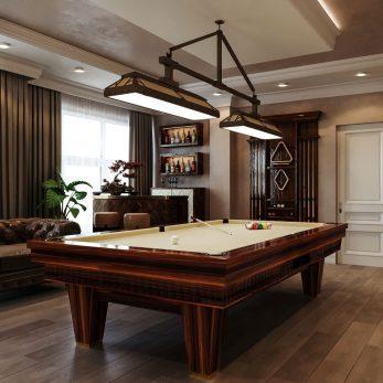 Дизайн бильярдной - Апартаменты ЖК Каравелла Португалии 300 кв.м