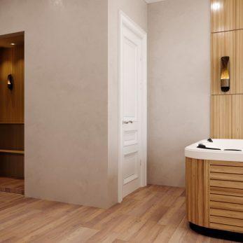 Дизайн ванной комнаты - Апартаменты ЖК Каравелла Португалии 300 кв.м