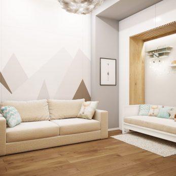 Дизайн детской комнаты - Современный интерьер от Елены Солохиной