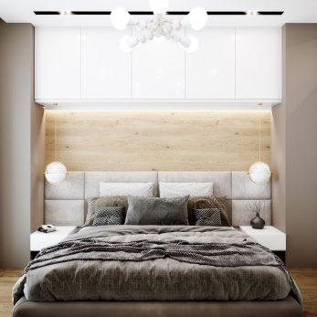 Дизайн спальни - Современный интерьер от Елены Солохиной