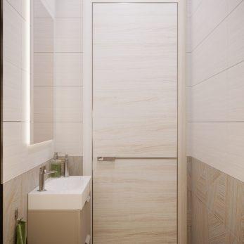 Дизайн ванной комнаты - Современный интерьер от Елены Солохиной