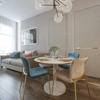 Дизайн кухни-гостиной - Современный интерьер от Елены Солохиной