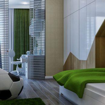 Дизайн детской комнаты - ЖК Парковая 180 кв. м