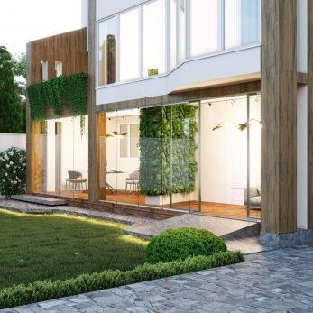 Дизайн веранды - Дом на Бытхе (Сочи)
