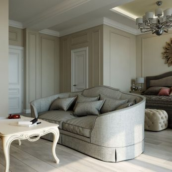 Дизайн спальни - Апартаменты ЖК Каравелла Португалии 300 кв.м