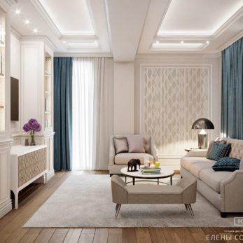 Дизайн зоны отдыха в стиле Модерн