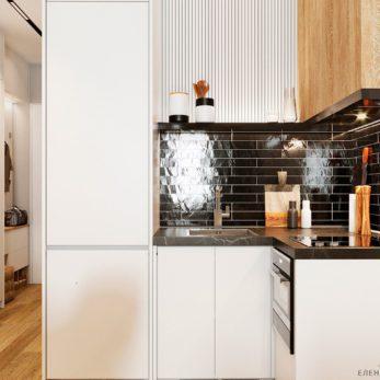Дизайн кухни с элементами лофта