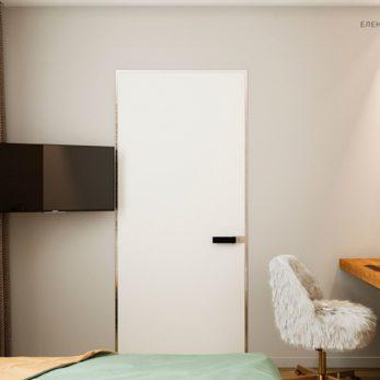 Квартира для молодой семьи с элементами лофта