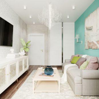 Небольшая квартира на отдых и проживание в ЖК Огни Сочи