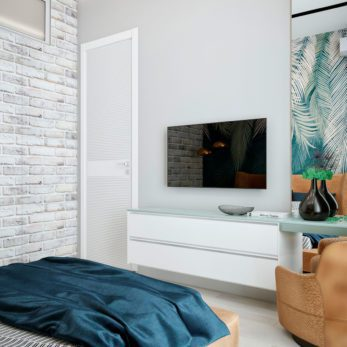 Дизайн проект квартиры - спальня