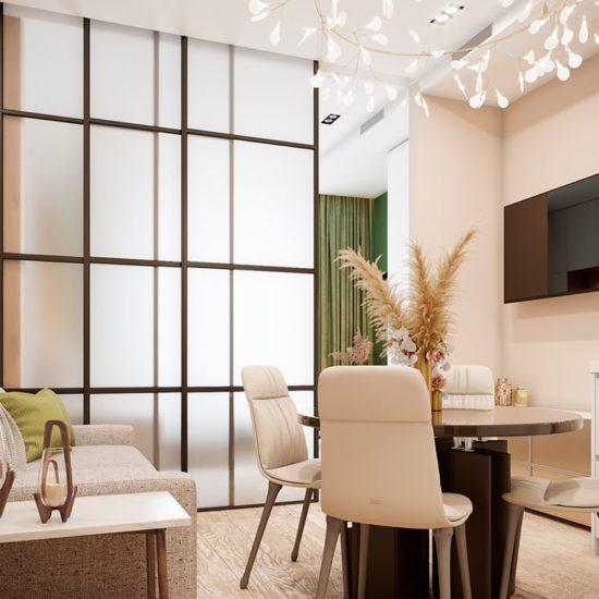 дизайн проект квартиры в современном стиле