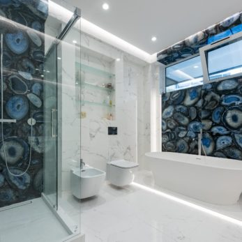 Квартира в стиле неоклассика в ЖК Лазурный берег (Сочи)