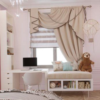 Дизайн интерьера детской в Москве