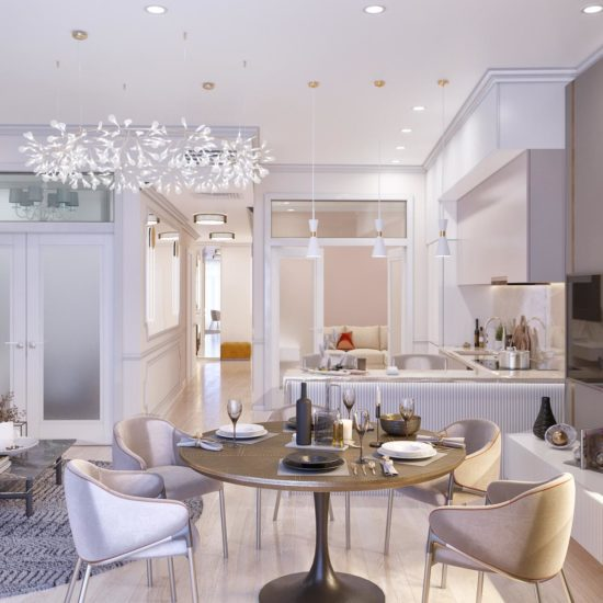 Дизайн квартиры в ЖК Александрия