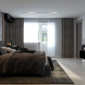 Квартира в стиле лофт