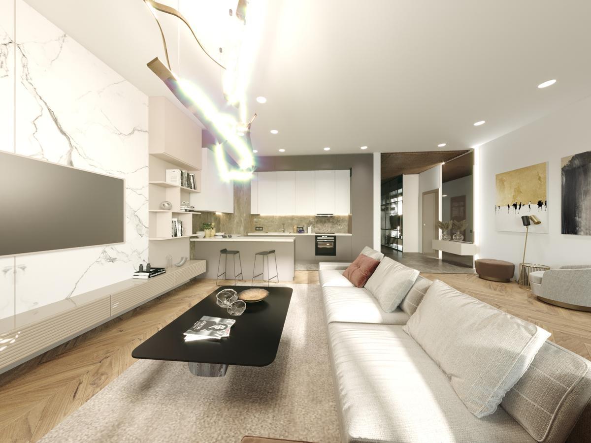 Дизайн апартаментов «Карамель в шоколаде»