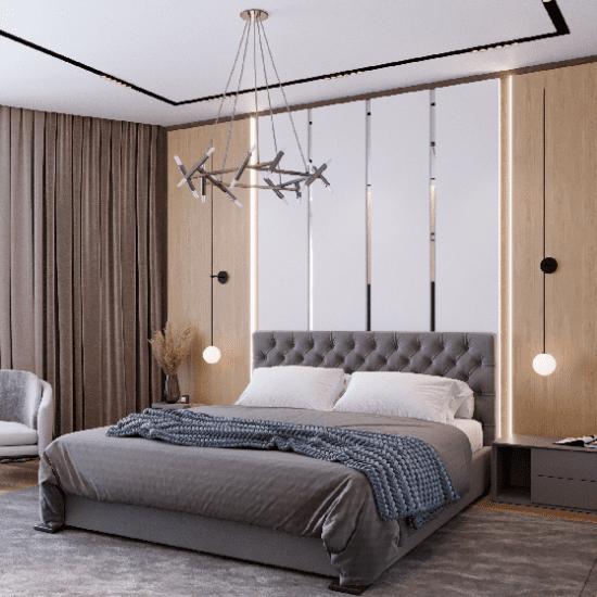 Дизайн апартаментов: Карамель и шоколад