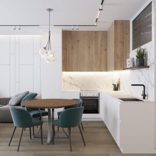 Дизайн интерьера квартиры у моря